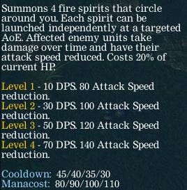 Описание Fire Spirits Феникса