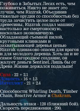 Гайд по Goblin Shredder, описание героя
