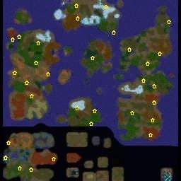 23 Расы карта для Варкрафт 3