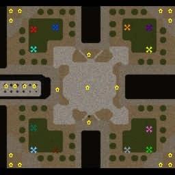 Карта Футман Френзи для Warcraft 3